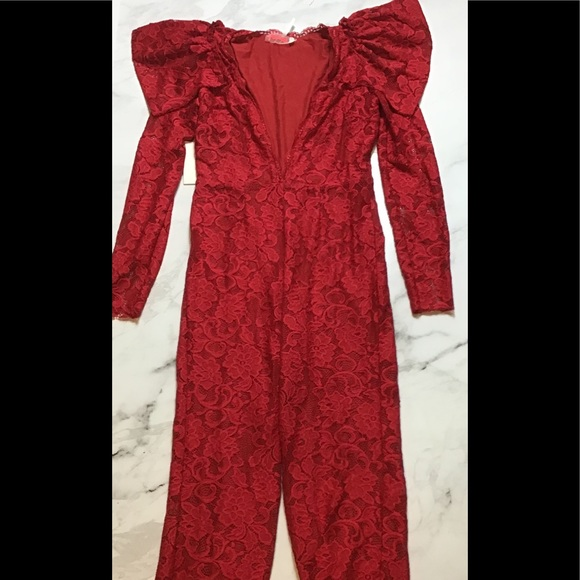 Free People Other - Free people lace jumpsuit